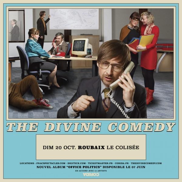 THE DIVINE COMEDY - LE COLISEE - ROUBAIX - DIM. 20/10/2019 à 18H00