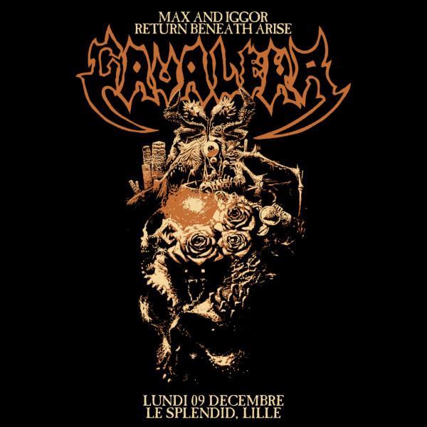 MAX & IGGOR CAVALERA : RETURN BENEATH ARISE - LE SPLENDID - LILLE - LUN. 09/12/2019 à 20H00