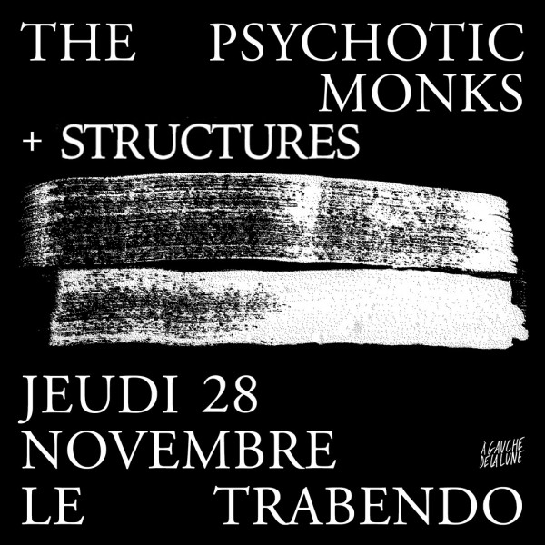 THE PSYCHOTIC MONKS - LE TRABENDO - PARIS - JEU. 28/11/2019 à 20H00