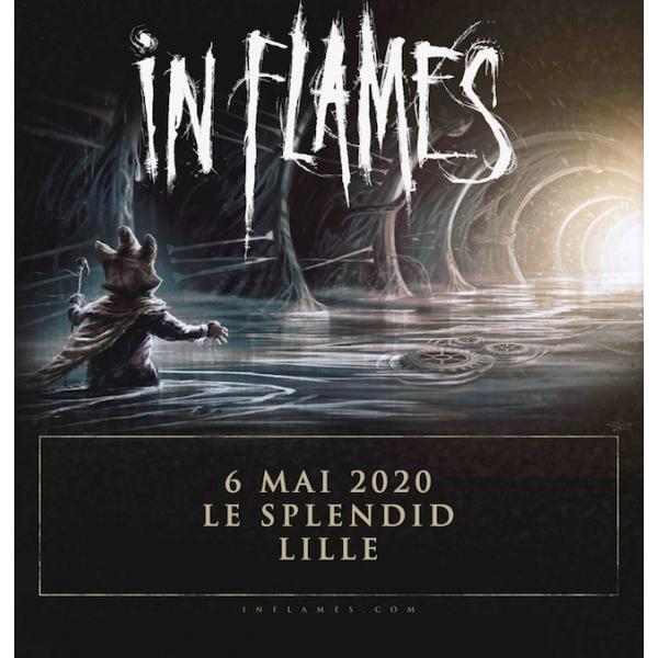 IN FLAMES - LE SPLENDID - LILLE - MER. 06/05/2020 à 20H00