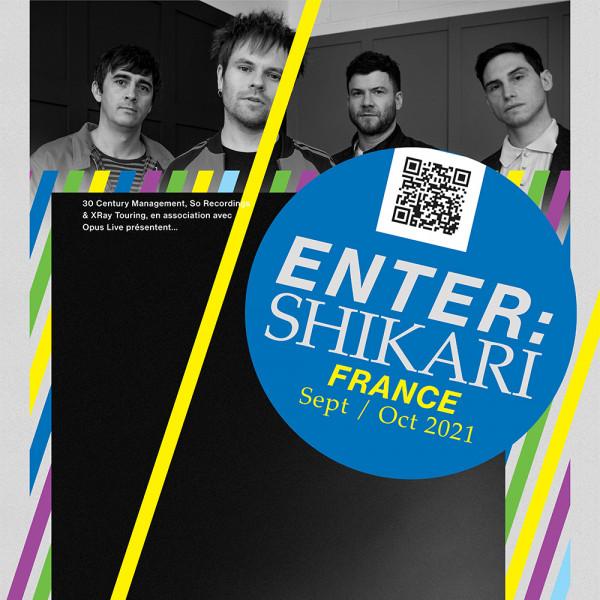 ENTER SHIKARI - LE GRAND MIX - TOURCOING - SAM. 09/10/2021 à 20:00:00