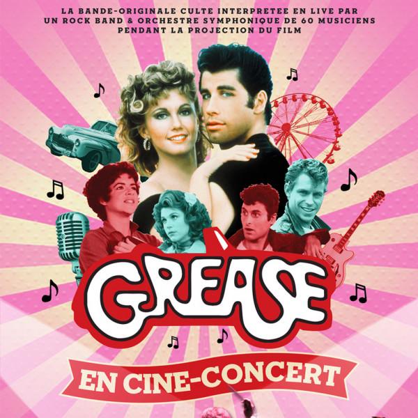 GREASE EN CINE-CONCERT - ZENITH DE LILLE - MAR. 23/03/2021 à 20H00